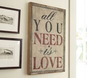 "Картина ""All You Need Is Love"""